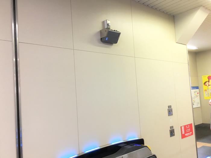 西武線高田馬場駅音声案内装置