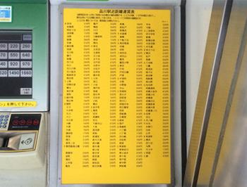 樹脂製 点字運賃表 | 製品一覧 | 株式会社ブライユ